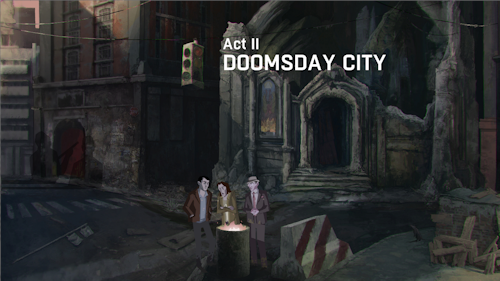 Act II - Doomsday City