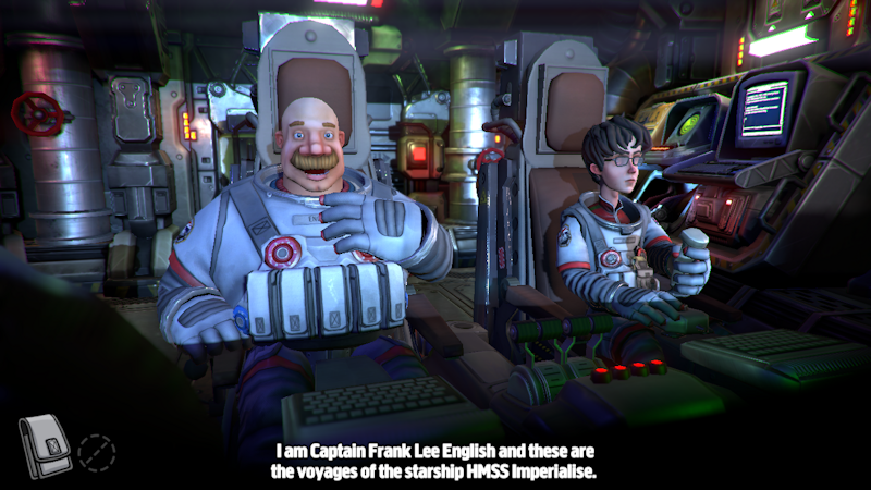 Captain Frank Lee English, the protagonist.